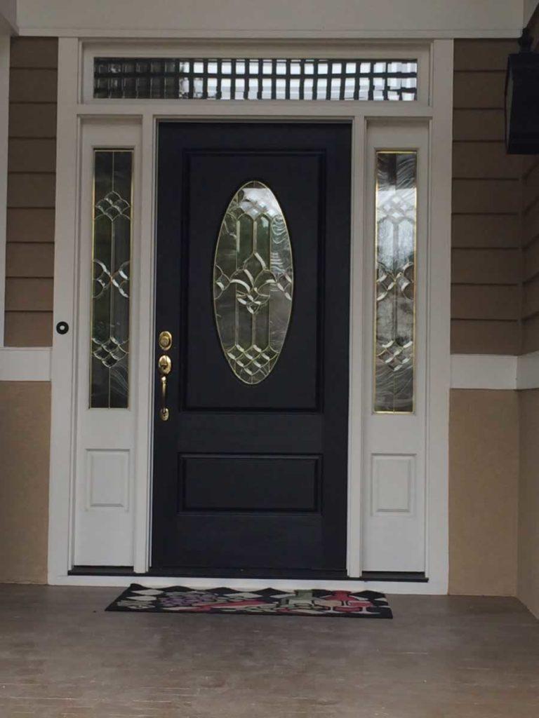 Oval Door Before
